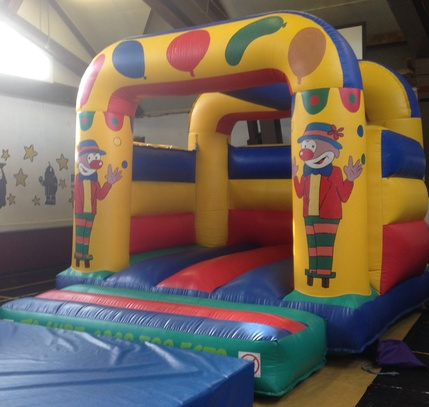 Bring a dish bouncy castle